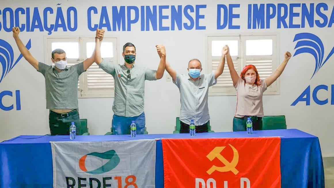 Inácio Falcão terá apoio da Rede em Campina