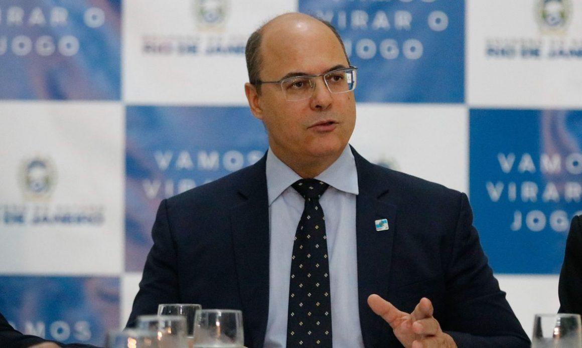 STJ afasta governador do Witzel por propina