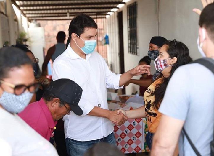 Nos bairros: Raoni critica falta de acesso a médicos