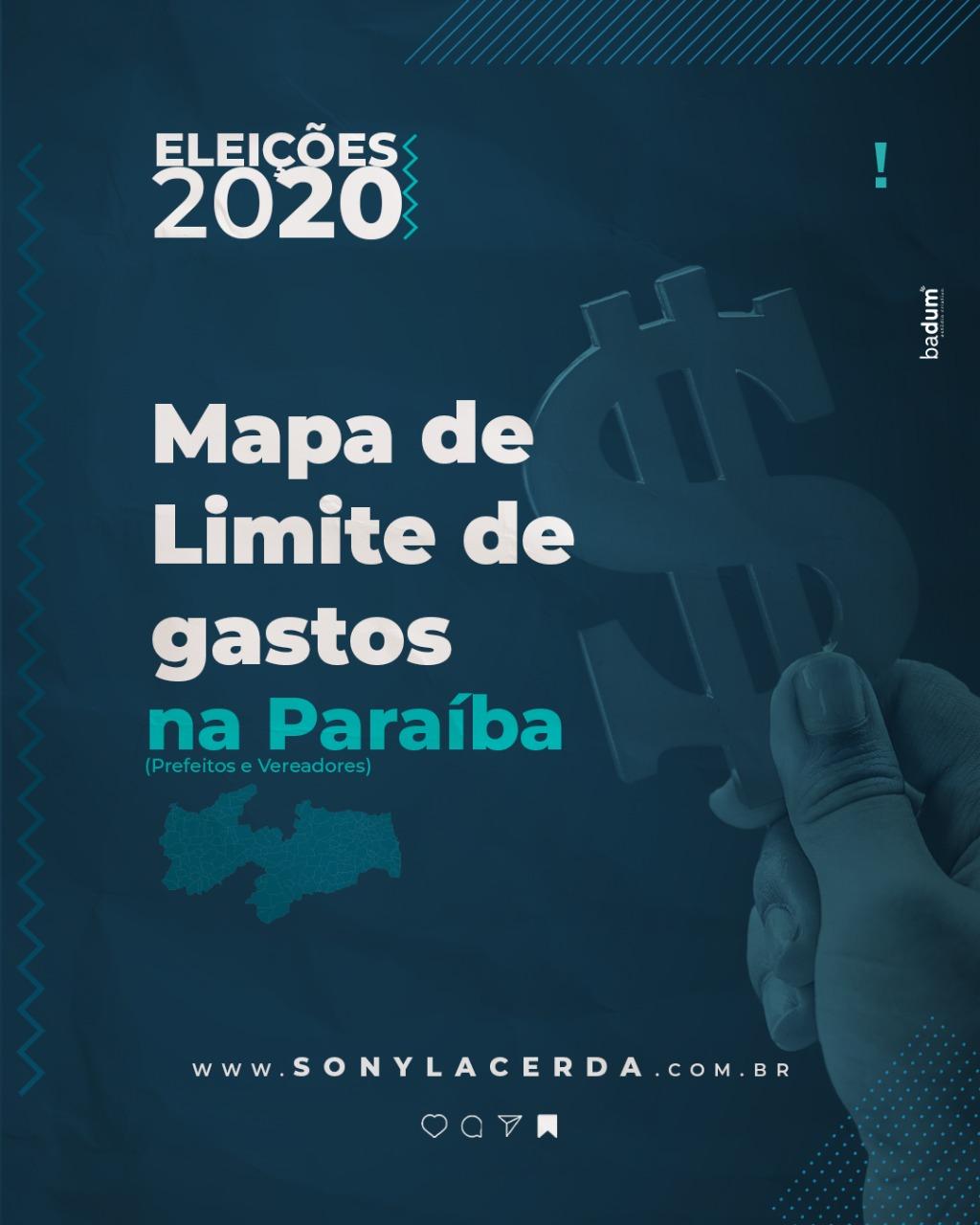 Saiba o limite de gastos dos candidatos a prefeito