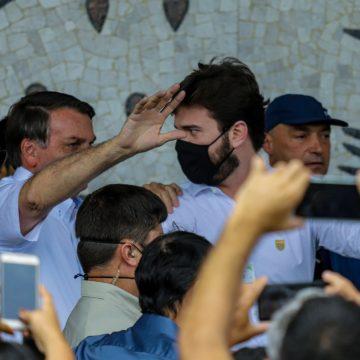 Afago de Bolsonaro a Bruno causa ciumeira
