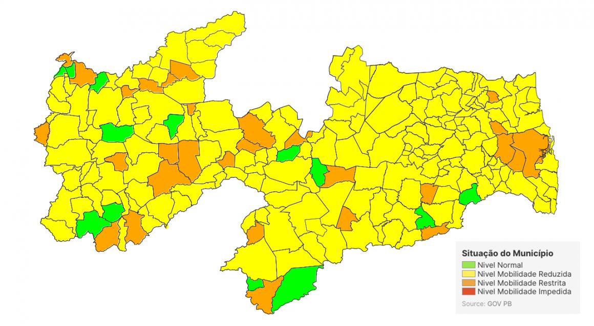 """Novo mapa de avaliação acende sinal """"amarelo"""""""