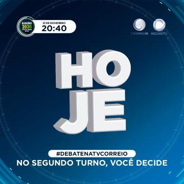TV Correio realiza debate entre Cícero e Nilvan