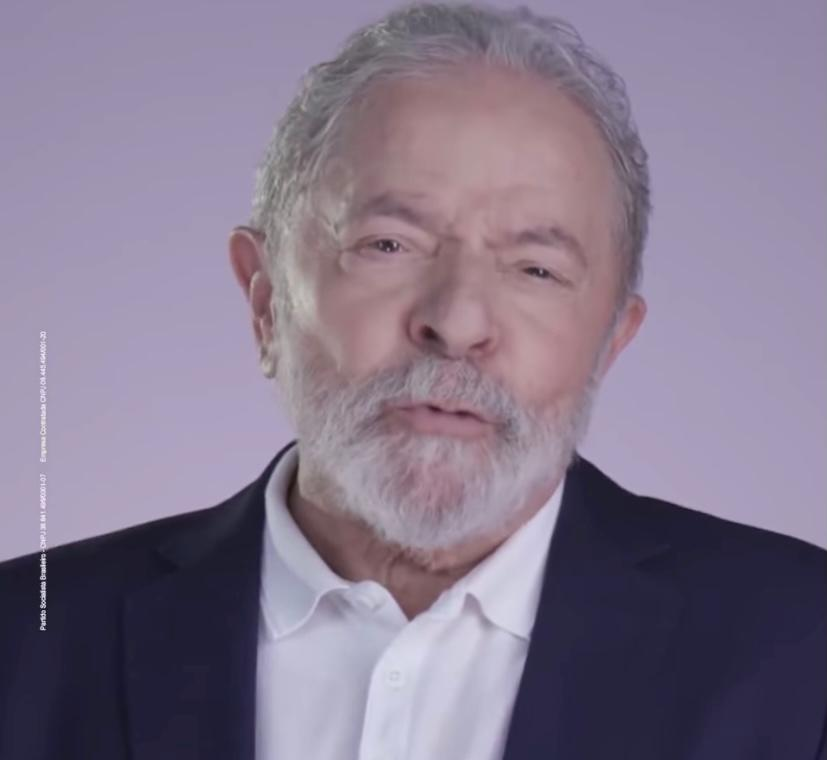 Juíza manda retirar vídeo de Lula do guia de RC