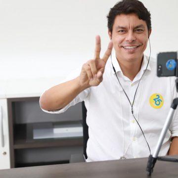 Raoni agradece à população pelos votos