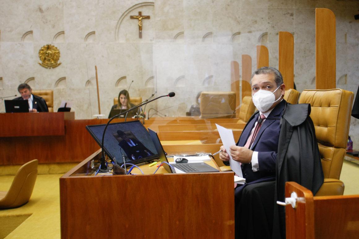Nunes Marques vota contra a suspeição de Moro