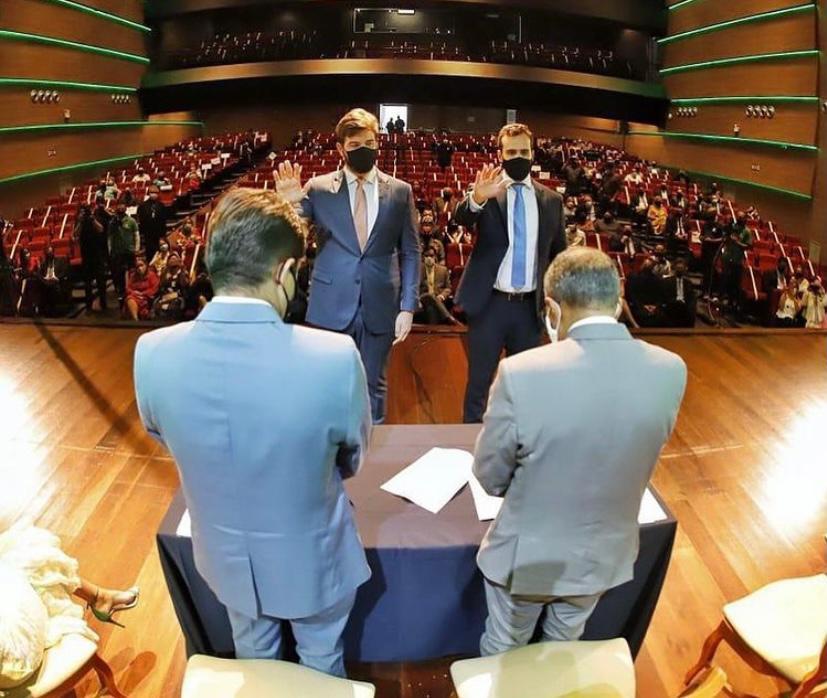 Em posse, Bruno propõe pacto por Campina Grande