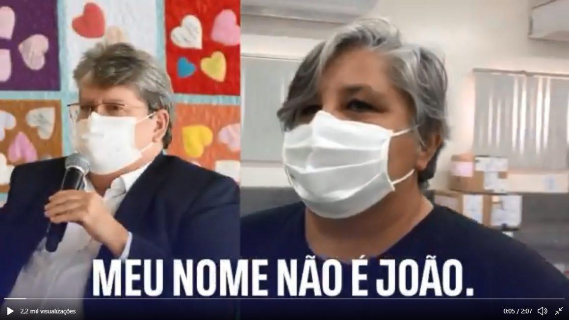 Vídeo brinca com semelhança entre João e Keila