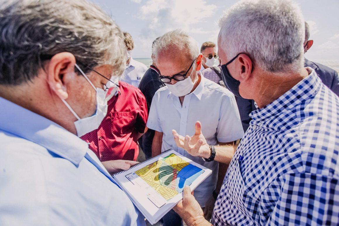 Governo e PMJP iniciam ação contra esgoto em praias
