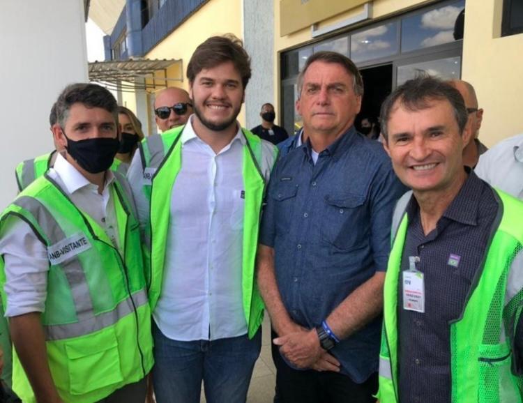 Tovar propõe retomada do Eixo Leste a Bolsonaro