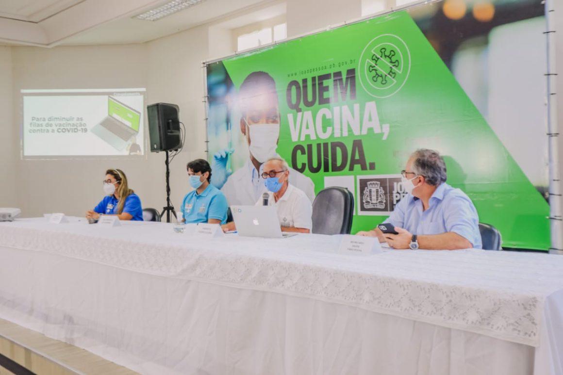 PMJP lança Vacina João Pessoa e vai imunizar 63/62+