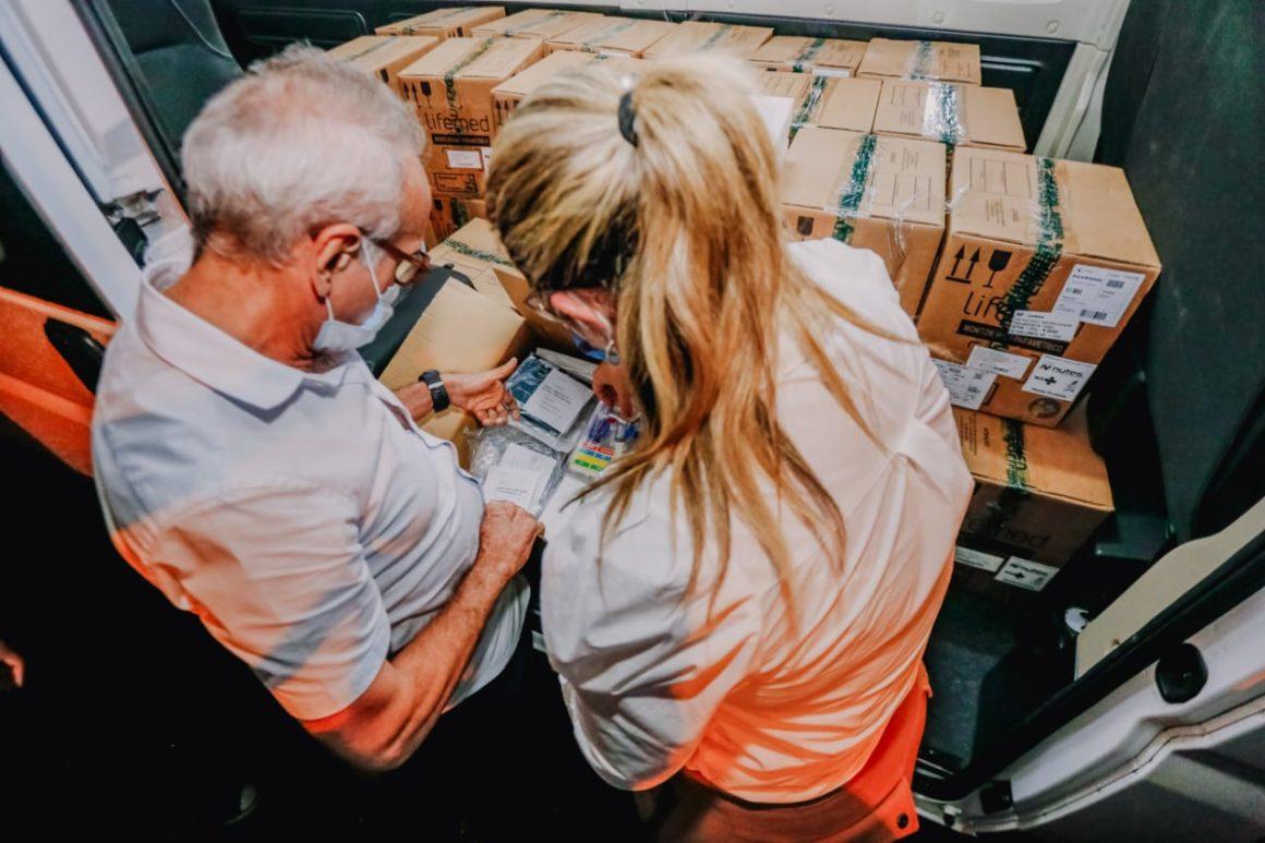 Cícero recebe monitores para novos leitos de UTI