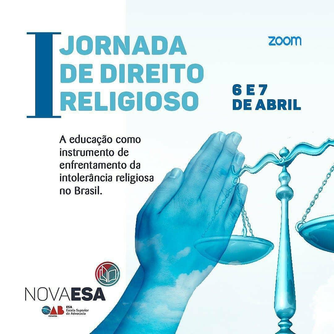 OAB-PB e ESA fazem 1ª Jornada de Direito Religioso