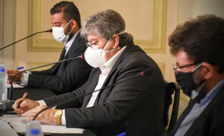 João Azevêdo é favorável à CPI da Pandemia