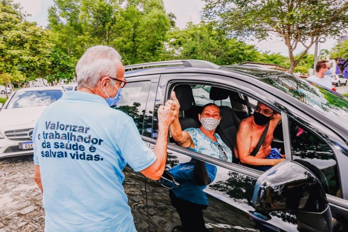 Vacinação por idade deve começar esta semana em JP