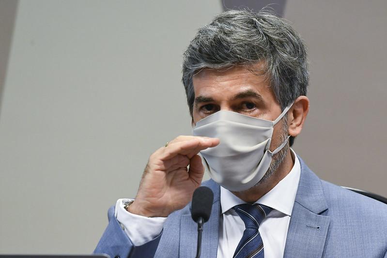 """O """"não"""" a cloroquina de Mandetta e Teich na CPI"""