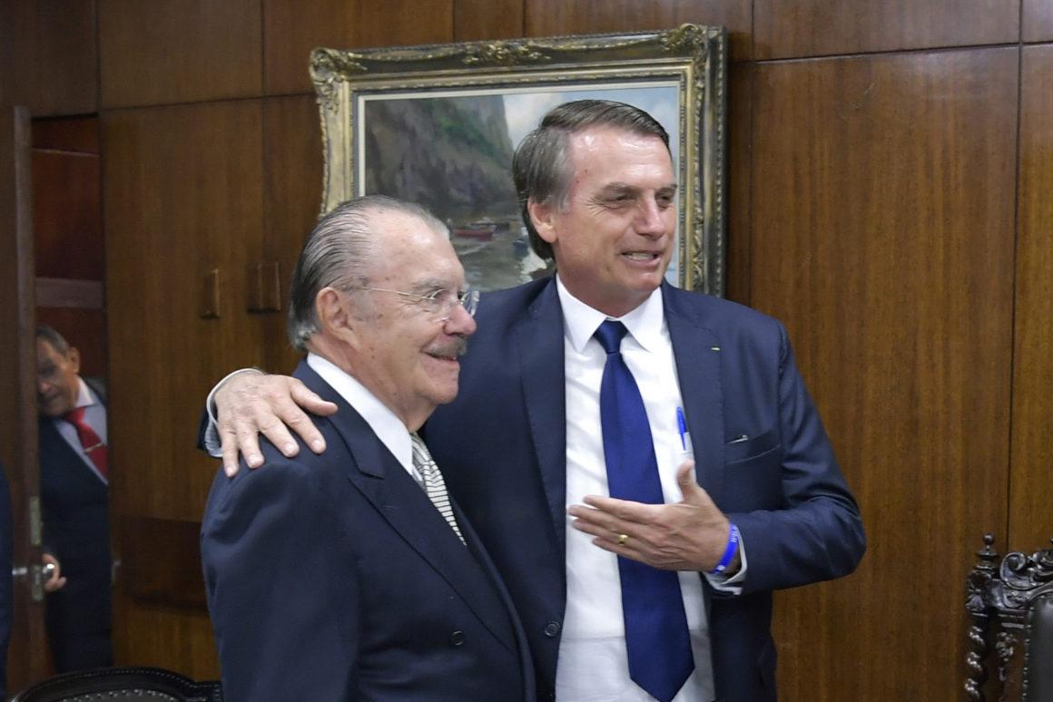 Aliados apelam e Bolsonaro procura Sarney