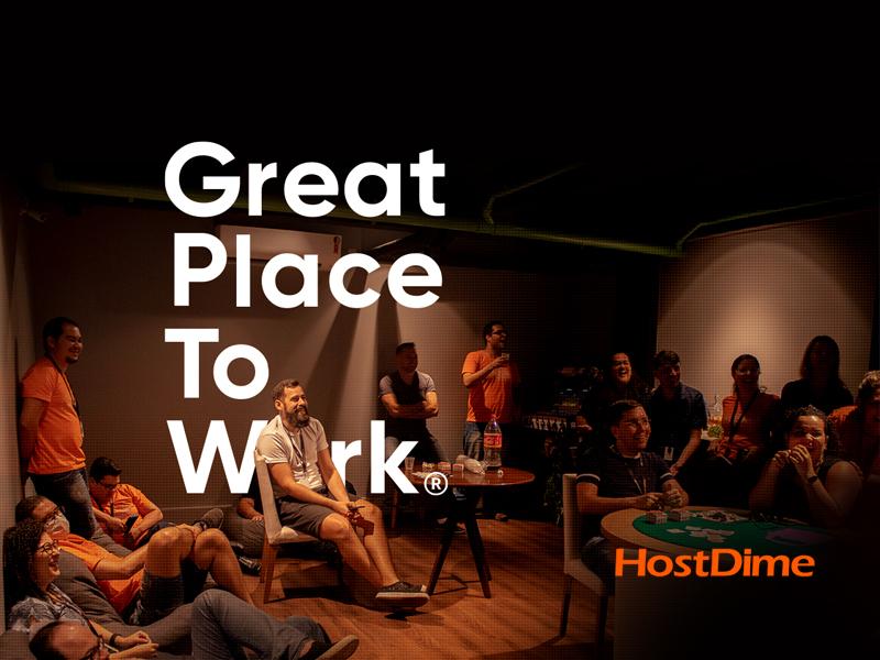 HostDime recebe selo de melhor lugar para trabalhar