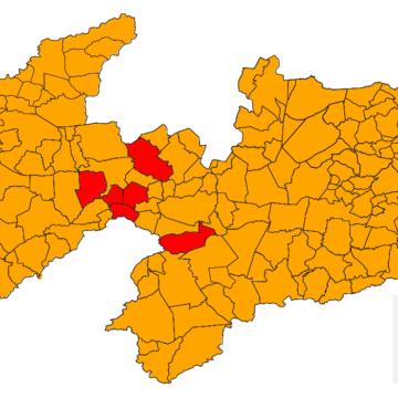 Paraíba não sai das bandeiras vermelha e laranja