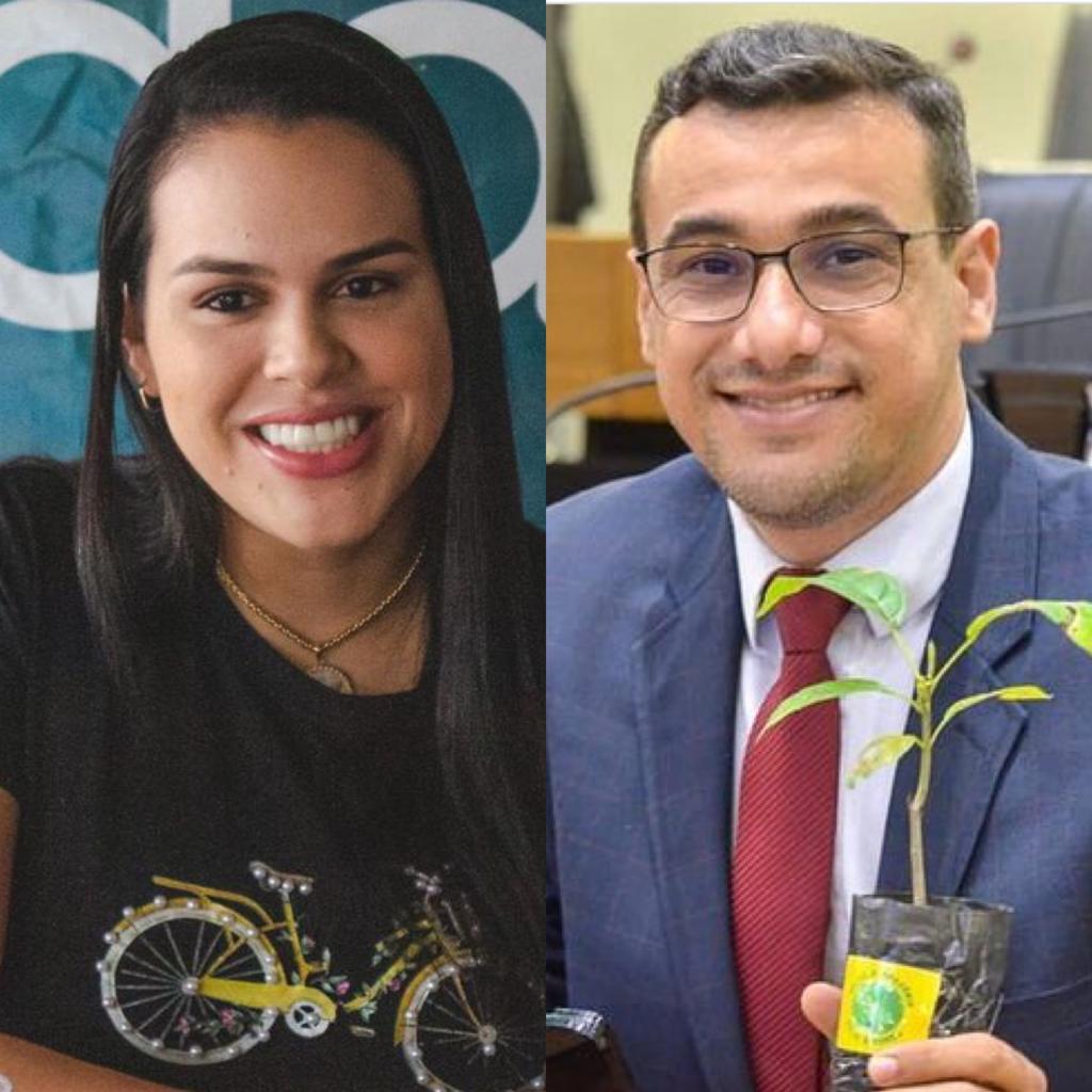 """Deputado Chió e Rafaela já engatam """"dobradinha"""""""