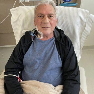 José Aldemir é transferido para UTI semi-intensiva