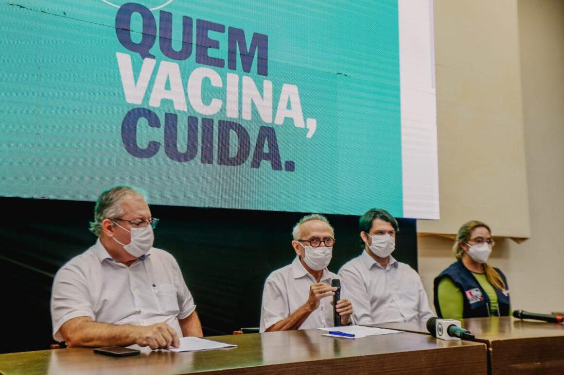 Cícero anuncia vacinação do público 35+ nesta sexta