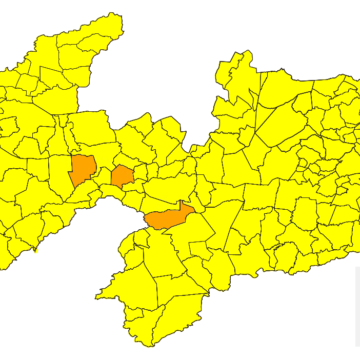 Paraíba se mantém estável na bandeira amarela