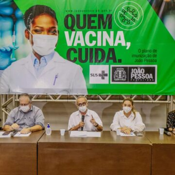 Cícero projeta vacinar 30+ na próxima semana