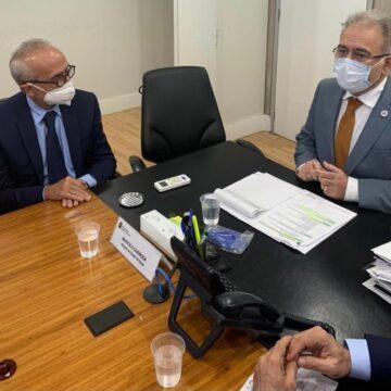 Cícero discute com Queiroga vacinar dos 12 aos 17