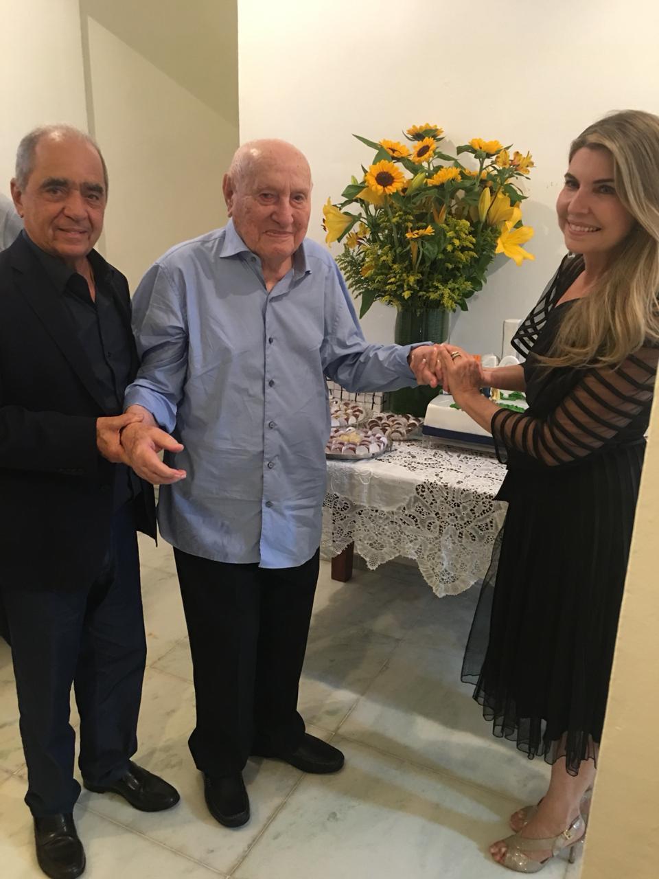 Morre fundador do CORREIO Teotônio Neto aos 102 anos