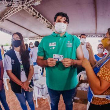 PMJP vacina 36 mil pessoas e pode abrir para 30+