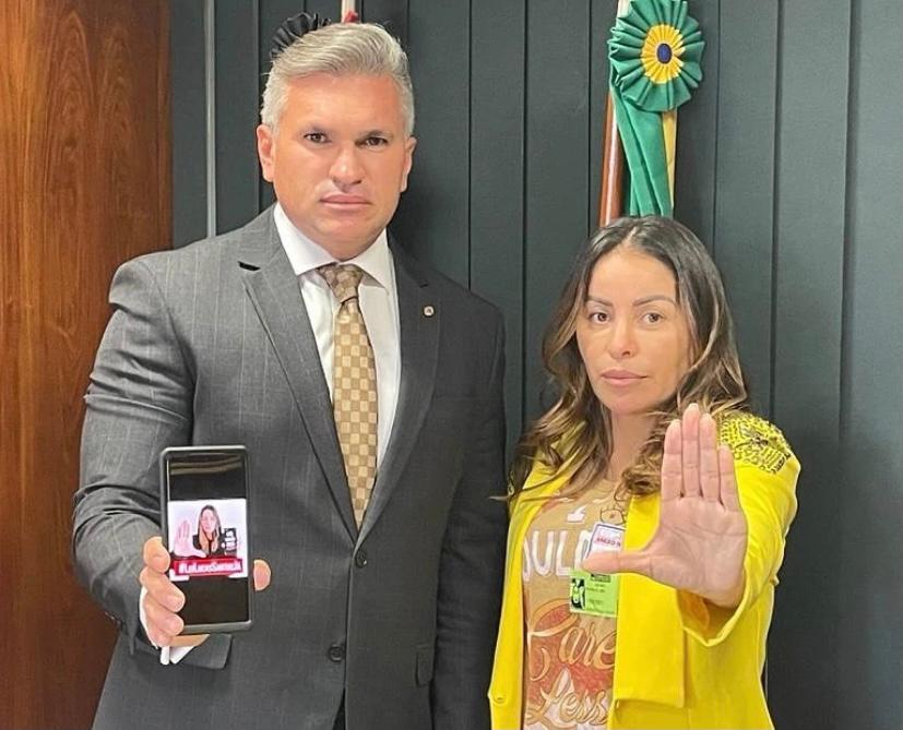 Julian recebe Walkyria para discutir PL Lucas Santos