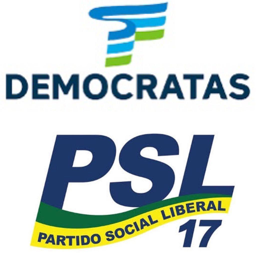 DEM e PSL divulgam nota conjunta de repúdio