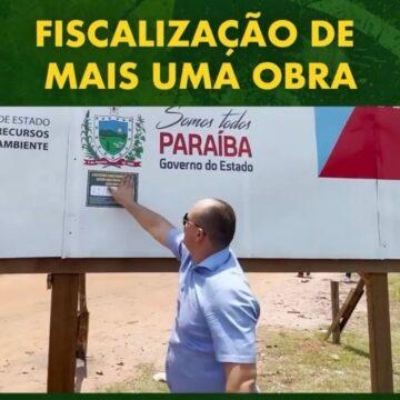 """Sem projetos, cabo Gilberto vira """"fiscal"""" de placa"""