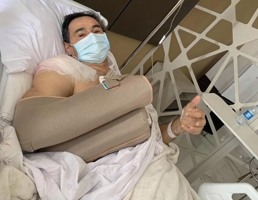 """""""Cirurgia realizada com sucesso"""", informa Romero"""